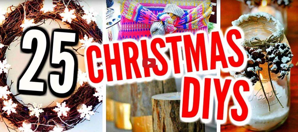 25 diy christmas decorations holiday room decor crafts for Christmas decoration stuff